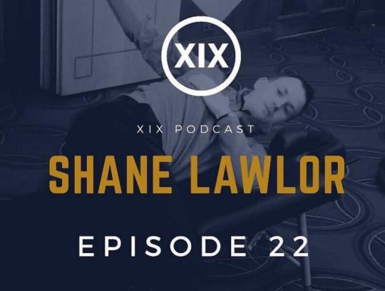 Shane on XIX Golf Podcast